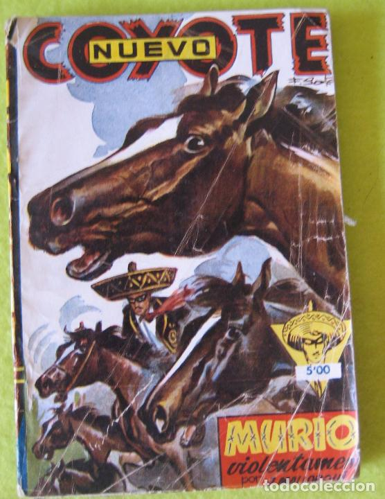 EL COYOTE _MURIÓ VIOLENTAMENTE (Tebeos y Comics - Cliper - El Coyote)