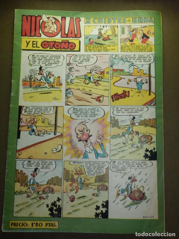 TEBEO - NICOLAS Y EL OTOÑO - EDICIONES CLIPER (Tebeos y Comics - Cliper - Nicolas)