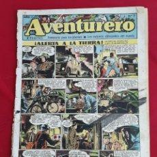Tebeos: AVENTURERO - SEMANARIO PARA LOS JOVENES- AÑO 1 N°2 EDICIONES FUTURO 1953. Lote 87570262