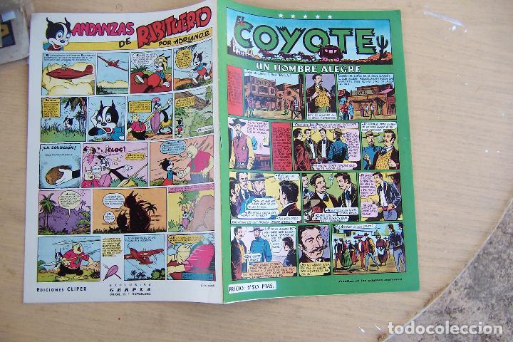 CLIPER,- EL COYOTE Nº 20 UN HOMBRE ALEGRE (Tebeos y Comics - Cliper - El Coyote)