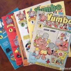 Tebeos: YUMBO-CLIPER-LOTE CON LOS NÚMEROS 1 AL 6. Lote 89561440