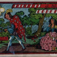 Tebeos: RIQUETE EL DEL COPETE. CUADERNOS SELECTOS CISNE Nº 30. 1942 CLIPER. Lote 89866984