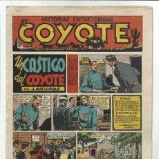 Tebeos: EL COYOTE Nº 10: UN CASTIGO DEL COYOTE, 1947, MUY BUEN ESTADO. Lote 92047450