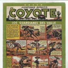 Tebeos: EL COYOTE 14: LOS GUARDIANES DEL VALLE, 1948, ORIGINAL, BUEN ESTADO. Lote 92047880