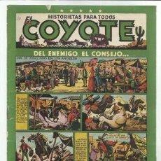 Tebeos: EL COYOTE Nº 16: DEL ENEMIGO, EL CONSEJO..., 1948, ORIGINAL, BUEN ESTADO. Lote 92048195