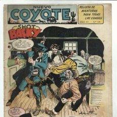 Tebeos: EL COYOTE 139: SHOT BACKY, 1953, BUEN ESTADO. Lote 92049080