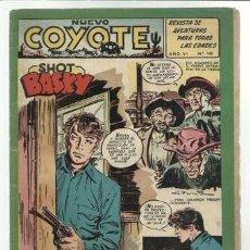Tebeos: EL COYOTE 140: SHOT BASKY, 1953, BUEN ESTADO. Lote 92049525