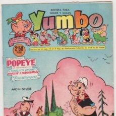 Tebeos: YUMBO Nº 238. CLIPER 1953. MUY ESCASO.... Lote 92058625