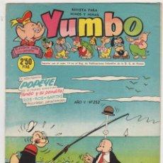 Tebeos: YUMBO Nº 252. CLIPER 1953. . Lote 92058810