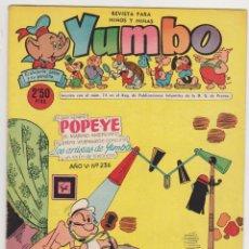Tebeos: YUMBO Nº 23. CLIPER 1953.. Lote 92059075