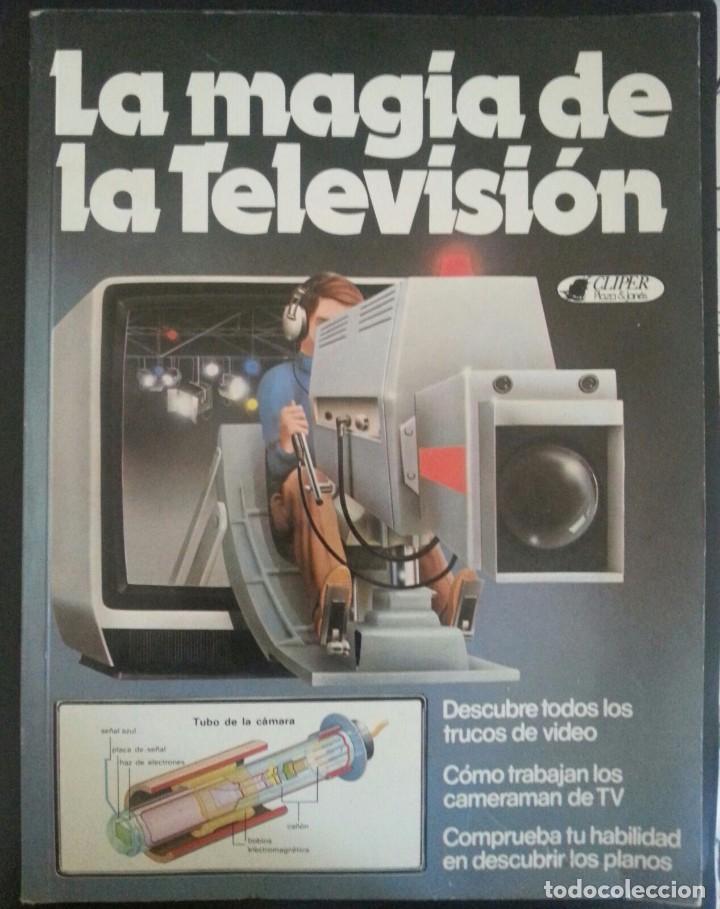 LIBRO LA MAGIA DE LA TELEVISIÓN AÑO 1981. CLIPER PLAZA & JANES (Tebeos y Comics - Cliper - Otros)