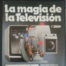 Tebeos: LIBRO LA MAGIA DE LA TELEVISIÓN AÑO 1981. CLIPER PLAZA & JANES. Lote 92489770