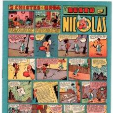 Tebeos: 2 CHISTES DE URDA. EL BUSTO DE NICOLAS. Nº 41. ORIGINAL. 1,50 PTAS.. Lote 92712020