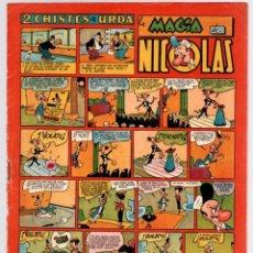 Tebeos: 2 CHISTES DE URDA. LA MAGIA DE NICOLAS. Nº 35. ORIGINAL. 1,50 PTAS.. Lote 92712705