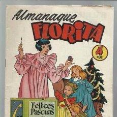 Tebeos: ALMANAQUE FLORITA 1955, EDICIONES CLIPER, MUY BUEN ESTADO. Lote 92867455