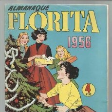 Tebeos: ALMANAQUE FLORITA 1956, EDICIONES CLIPER, MUY BUEN ESTADO. Lote 92867620