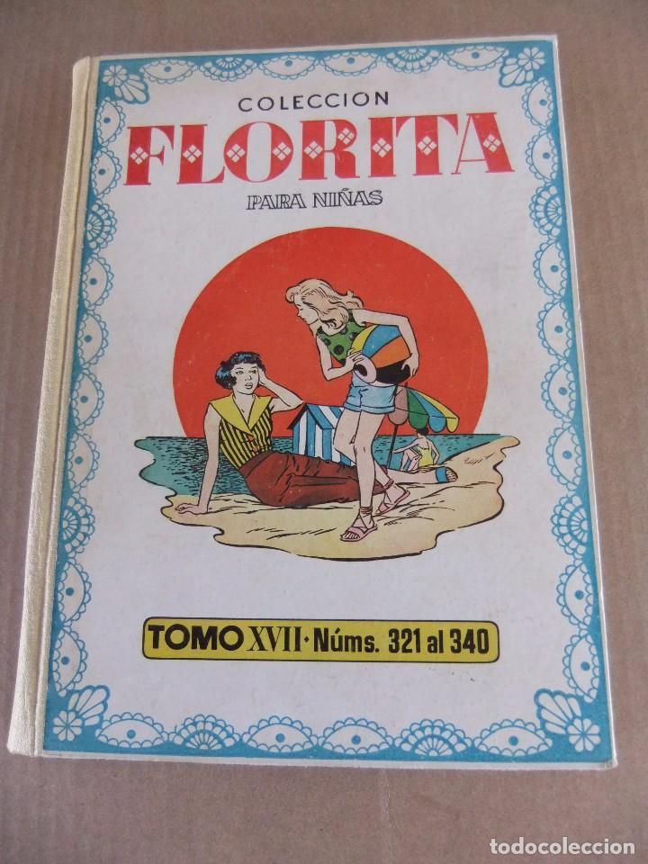 FLORITA TOMO XVII EDICIONES CLIPER NUMS 321 AL 340 (Tebeos y Comics - Cliper - Florita)