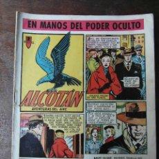 Tebeos: EN MANOS DEL PODER OCULTO. Nº 2 DE ALCOTAN. EDICIONES CLIPER. 1951. LARRAZ. Lote 94408110