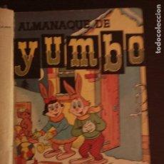 Tebeos: COMIC YUMBO CLIPER 25 PRIMEROS NÚMEROS Nº 1 AL 25 MAS ALMANAQUE PARA 1957 . Lote 87201584
