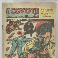 Tebeos: EL COYOTE ÉPOCA 2 Nº 13, 1954, CLIPER, USADO. Lote 94676383