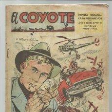 Tebeos: EL COYOTE, EPOCA 2 Nº 11, 1954, CLIPER, BUEN ESTADO. Lote 94676543