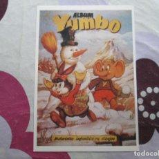 Tebeos: ALBUM YUMBO FICHA. Lote 95079519