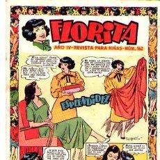 Tebeos: FLORITA (CLIPER) Nº 162. Lote 95568547