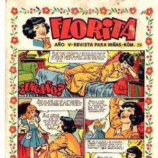Tebeos: FLORITA (CLIPER) Nº 214. Lote 95774299