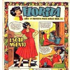 Tebeos: FLORITA (CLIPER) Nº 215. Lote 95774359
