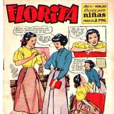 Tebeos: FLORITA (CLIPER) Nº 229. Lote 95774875
