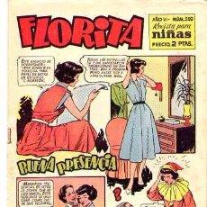Tebeos: FLORITA (CLIPER) Nº 259. Lote 96138007