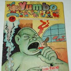 BDs: YUMBO Nº 258 - ORIGINAL CLIPER 1958 BUEN ESTADO- IMPORTANTE LEER DESCRIPCION. Lote 96393883