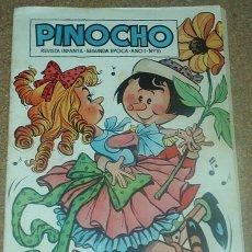 Tebeos: PINOCHO Nº 10 - CLIPER 1957 - ORIGINAL- LEER TODO. Lote 96813695