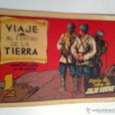 Tebeos: VIAJE AL CENTRO DE LA TIERRA - COMPLETA 2 EJEMPLARES. Lote 96958303