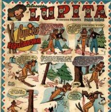 Tebeos: LUPITA-12 (CLIPER, 1950) . Lote 97259359