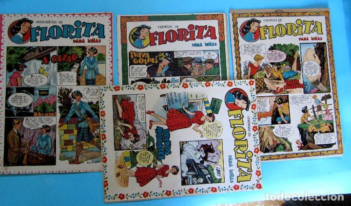Tebeos: LOTE DE 10 TEBEOS DE FLORITA. EDICIONES CLIPER, 1950S. - Foto 2 - 204693045