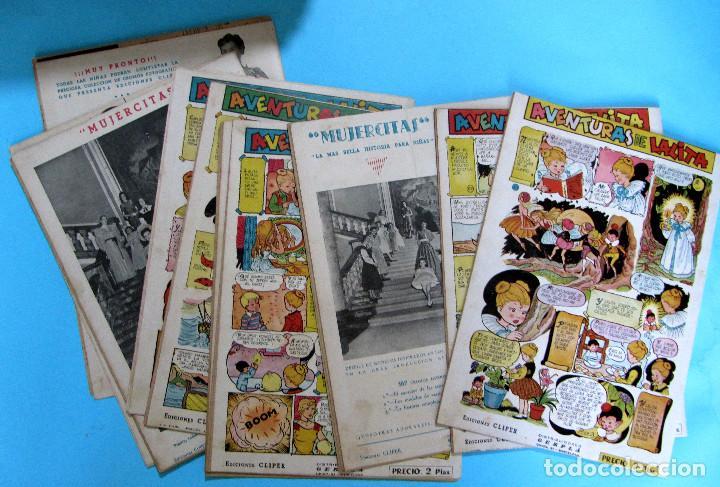 Tebeos: LOTE DE 10 TEBEOS DE FLORITA. EDICIONES CLIPER, 1950S. - Foto 4 - 204693045