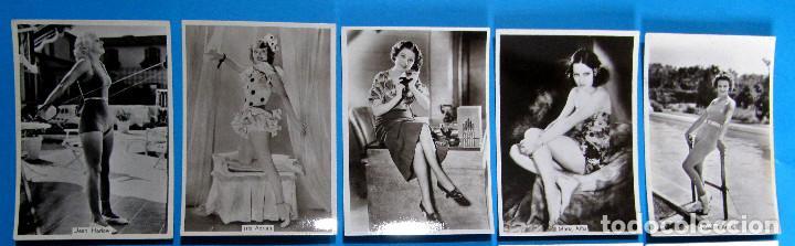 LOTE DE 20 CROMOS DE ARTISTAS DE CINE. BEAUTIES OF TO DAY. GODFREY PHILLIPS LTD, 1930'S (Tebeos y Comics - Cliper - Florita)
