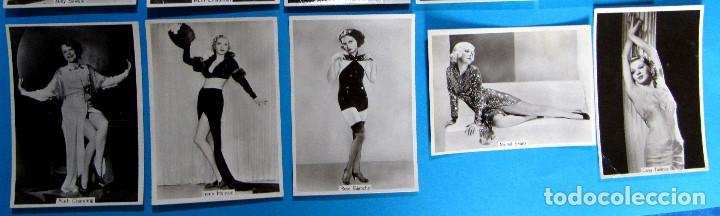 Tebeos: LOTE DE 20 CROMOS DE ARTISTAS DE CINE. BEAUTIES OF TO DAY. GODFREY PHILLIPS LTD, 1930S - Foto 3 - 97314667