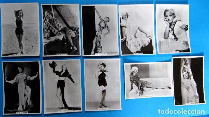 Tebeos: LOTE DE 20 CROMOS DE ARTISTAS DE CINE. BEAUTIES OF TO DAY. GODFREY PHILLIPS LTD, 1930S - Foto 4 - 97314667