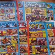 Tebeos: COMICS EL COYOTE ANTIGUOS AÑOS 50-60, LOTE DE 14 UDS. EN BUEN ESTADO EN GENERAL . Lote 97450963