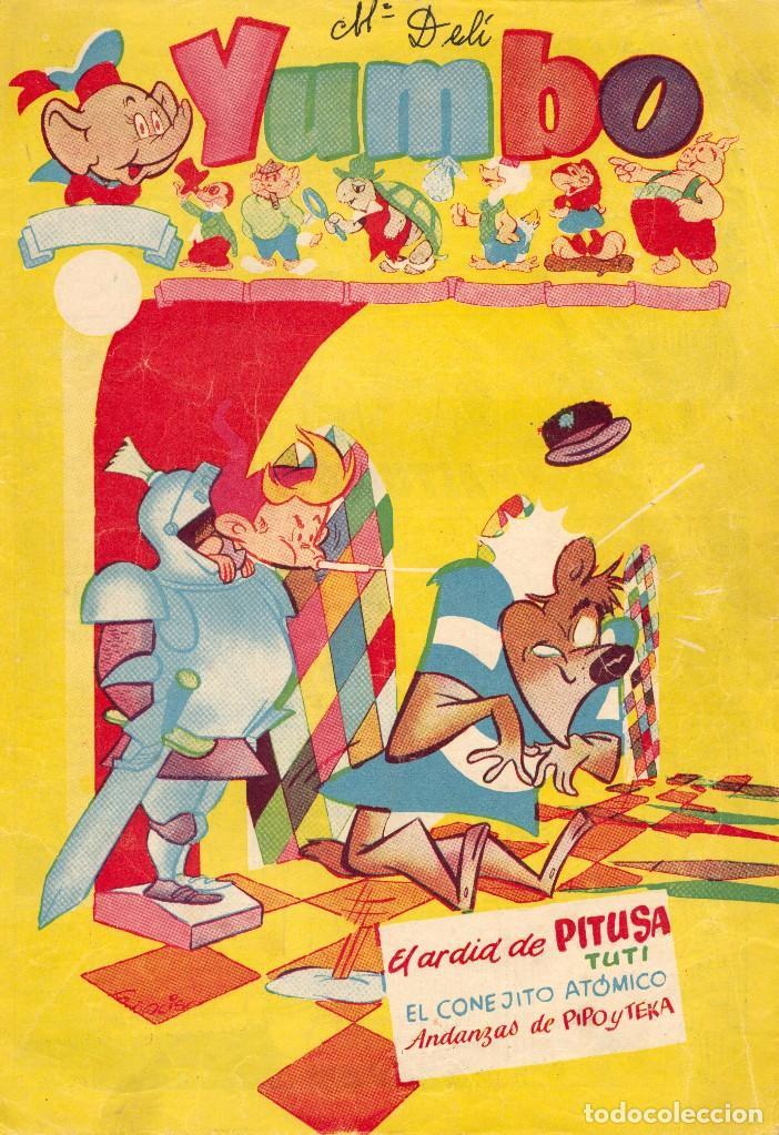 YUMBO Nº117 (CONEJITO ATÓMICO, PIPO Y TEKA, NICOTÍN, AYNÉ, FIGUERAS, GARCÍA... (Tebeos y Comics - Cliper - Yumbo)