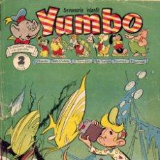 Tebeos: YUMBO Nº126. CONEJITO ATÓMICO, FRANCISCO MACIÁN, ALFONSO FIGUERAS, SALVADOR MESTRES, PIPO Y TEKA... . Lote 97463115