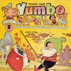 Tebeos: YUMBO Nº201. DIBUJOS DE RAF, BILLY Y BUMBLE, CONEJITO ATÓMICO, ENANÍN.... Lote 97464059