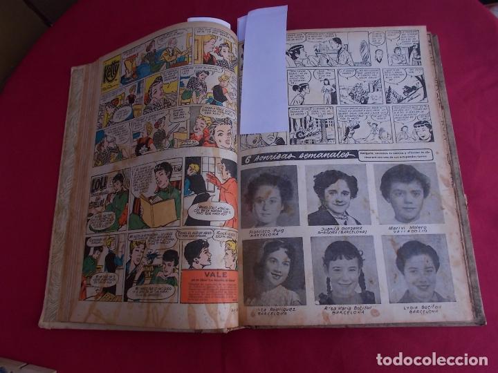 Tebeos: FLORITA. TOMO XVII. Nº 17. DESDE Nº 321 AL 340 MAS ALMANAQUE FLORITA 1956. CLIPER - Foto 10 - 97503475