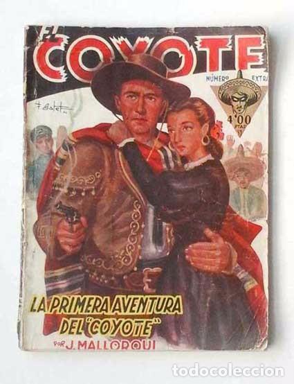 EL COYOTE Nº 2, EXTRA. ORIGINAL DE CLIPER (Tebeos y Comics - Cliper - El Coyote)