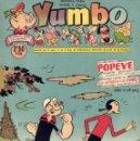 Tebeos: YUMBO Nº242. EL CONEJITO ATÓMICO, POPEYE, ENANÍN, BILLY Y BUMBLE, ARTISTAS DE YUMBO... . Lote 97730151