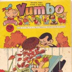 Tebeos: YUMBO Nº251. EDITORIAL CLÍPER. DIBUJOS DE AYNÉ, SALVADOR MESTRES, ZABOLY, HARRY SMITH, GARCÍA.... Lote 97954959