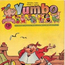 Tebeos: YUMBO Nº267. CONEJITO ATÓMICO, NICOTÍN, PIRATA BARBARROJA... DIBUJOS DE RAF, AYNÉ, HARRY SMITH.... Lote 97955319