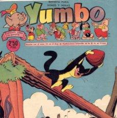 Tebeos: YUMBO Nº268. BILLY Y BUMBLE, NICOTÍN, POPEYE, NIN, URDA, GARCÍA, CONEJITO ATÓMICO, ENANIN.... Lote 97955591